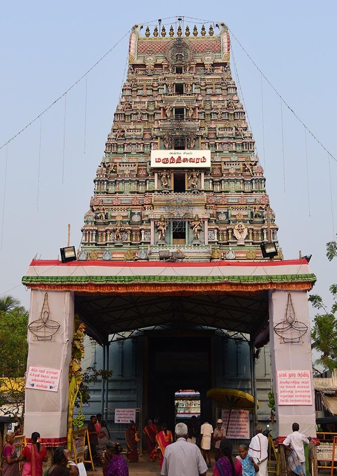Marundeeswarar temple's gopuram