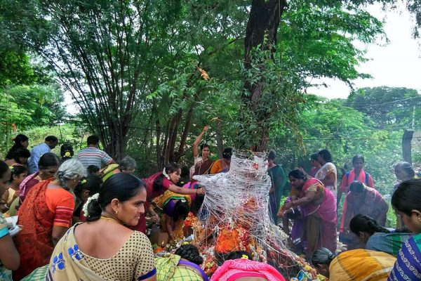 The Nag Panchami ceremony in India