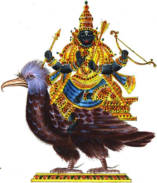 Shani dosha occurs when shani is weak in ones horoscope