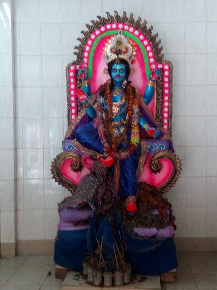Shani idol on Shani Jayanti
