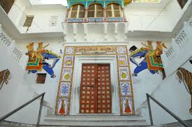 Nathdwara Paintings in Shrinathji Temple