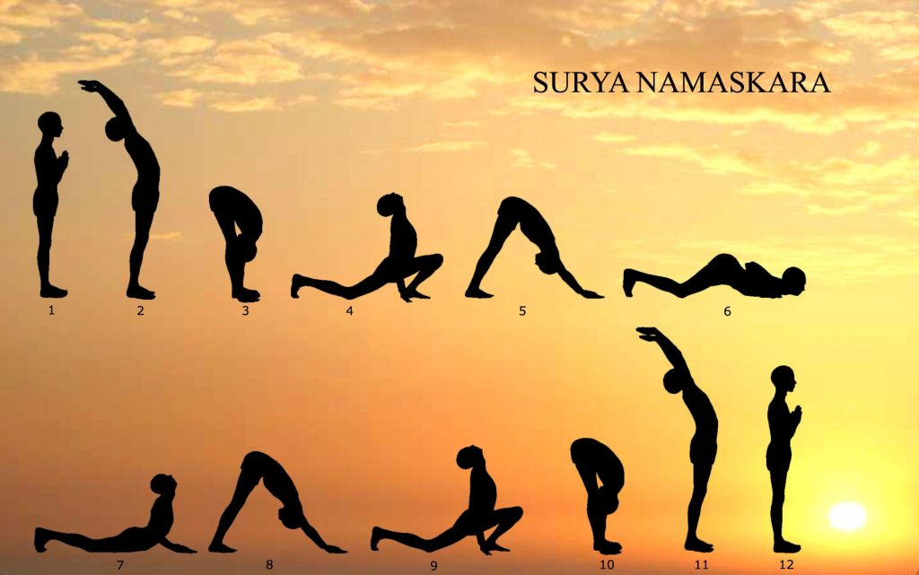 Surya namaskar for the mind and body