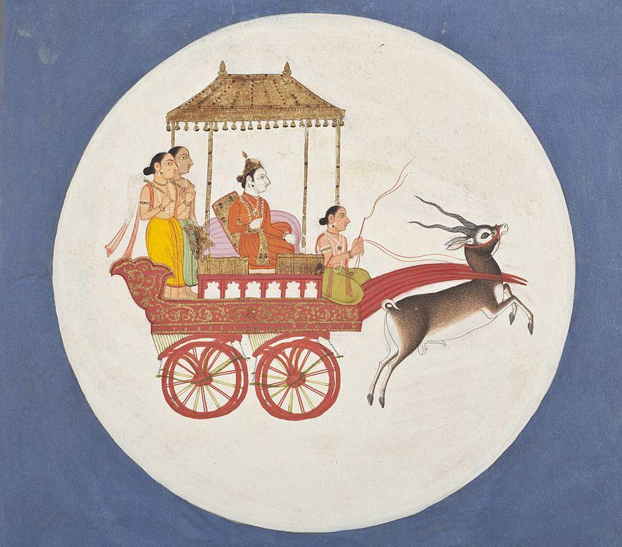 The Navagrahas - Chandra