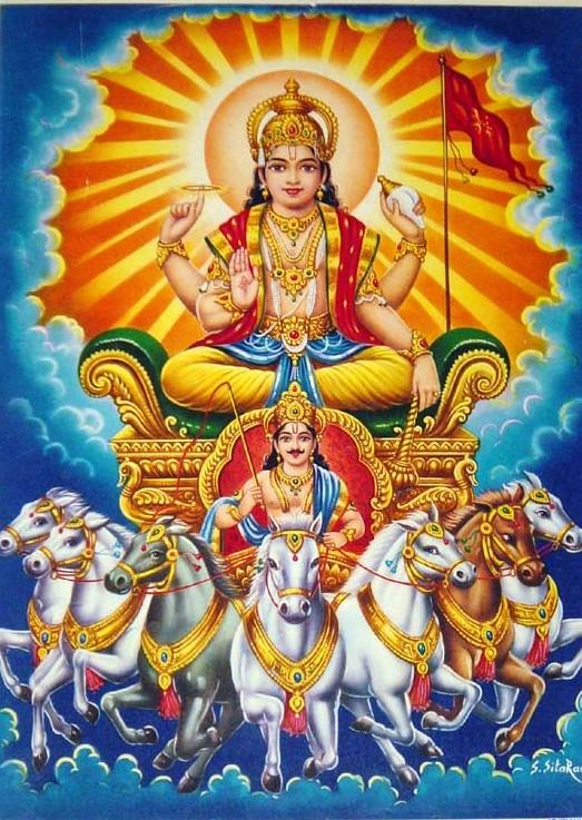 The Navagrahas - Surya