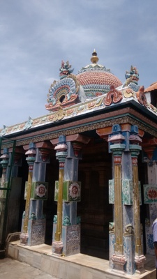 Vimana structure of thirunallar temple