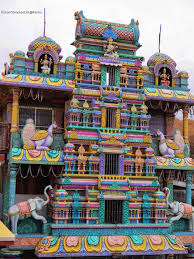 Entrance to the Wargal Saraswati Temple