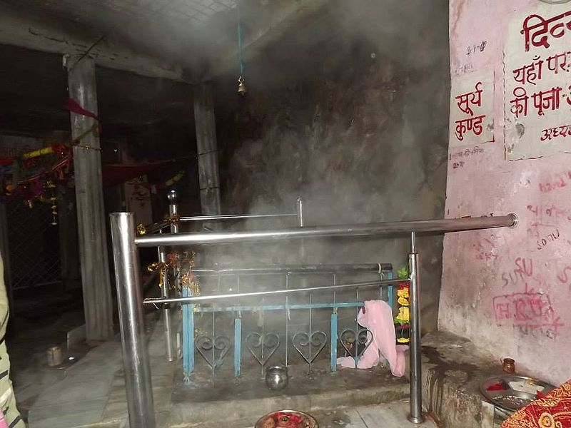 Hot springs at Yamunotri temple