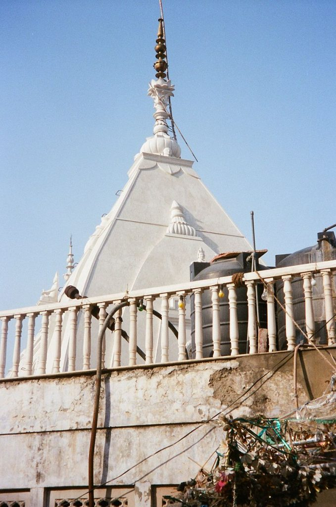 Tower atop the Yogmaya temple