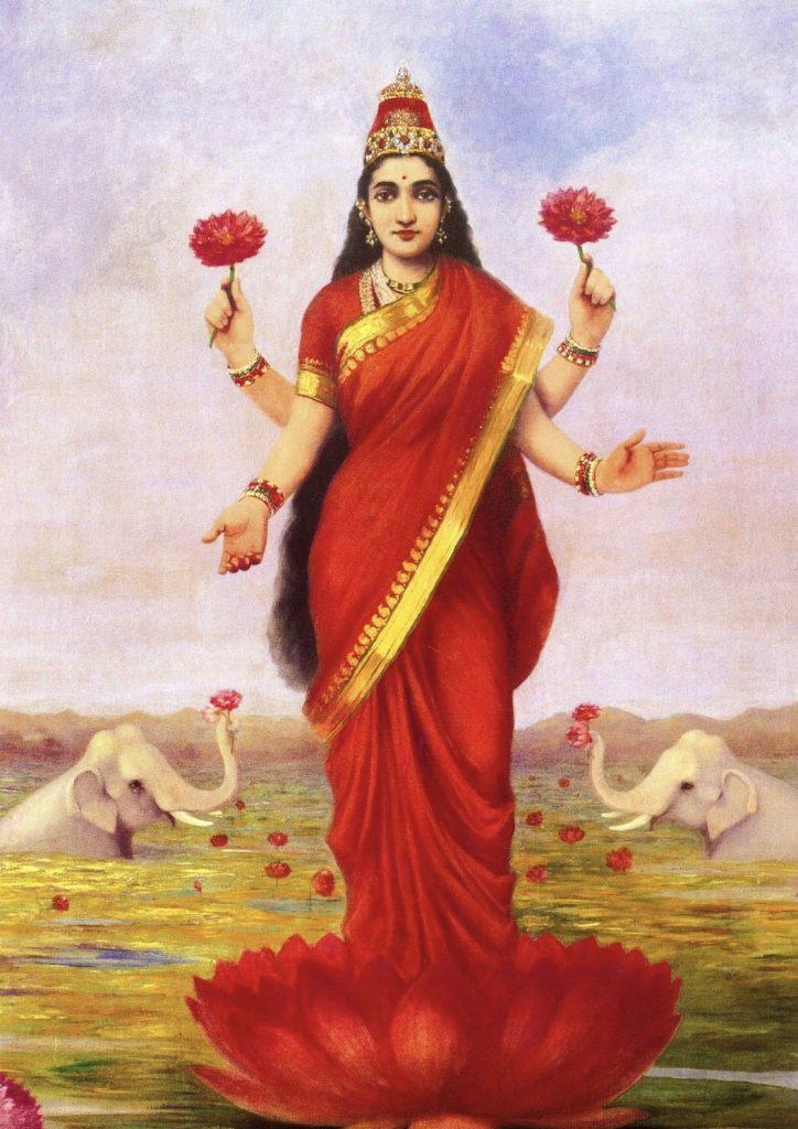 mahalakshmi ashtakam sings praises of mahalaskhmi devi.