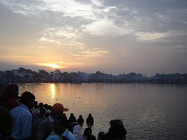 Chhath Puja Sunrise