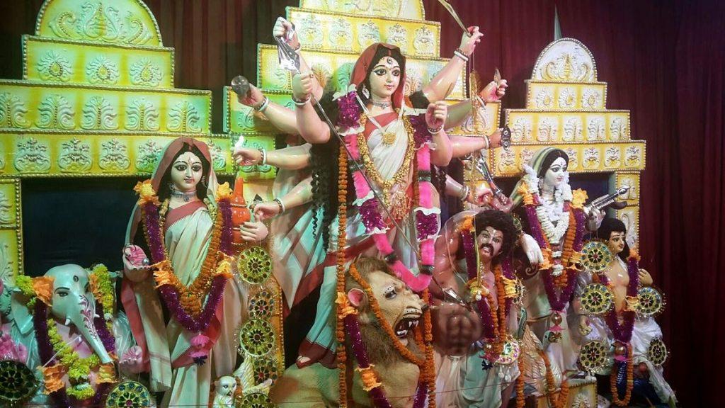 Durga Ashtami Celebration in Asvina