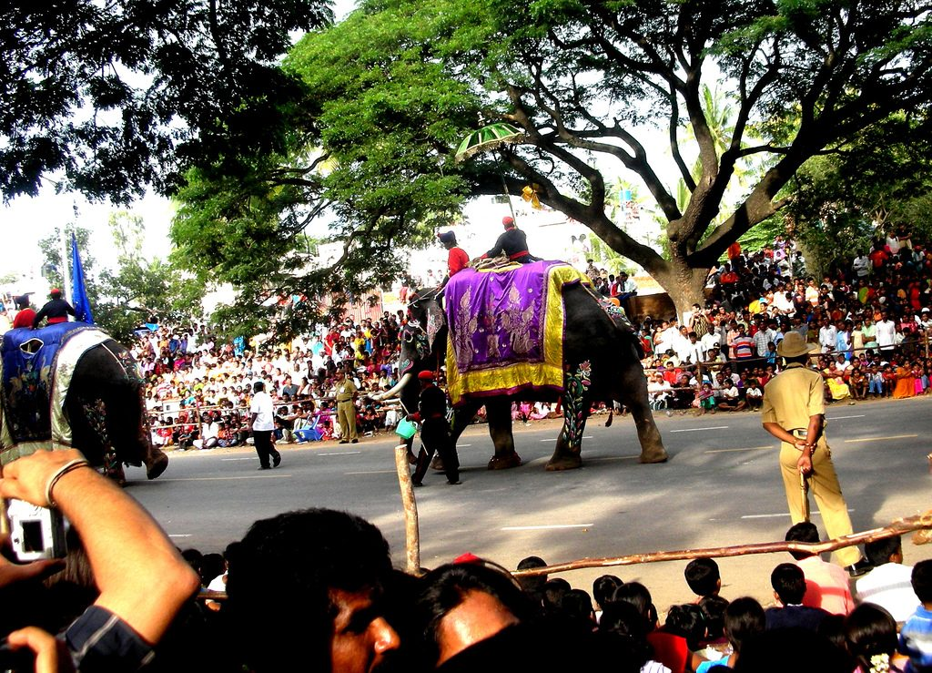 Dussehra Procession during Asvina month