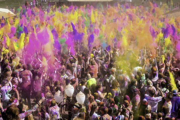 The festival of Holi