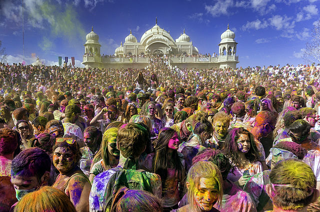 Holi Clebration in the US