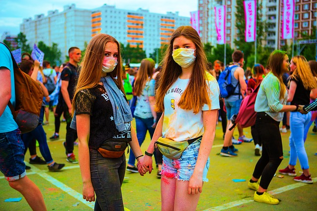Holi Festival in Moscow