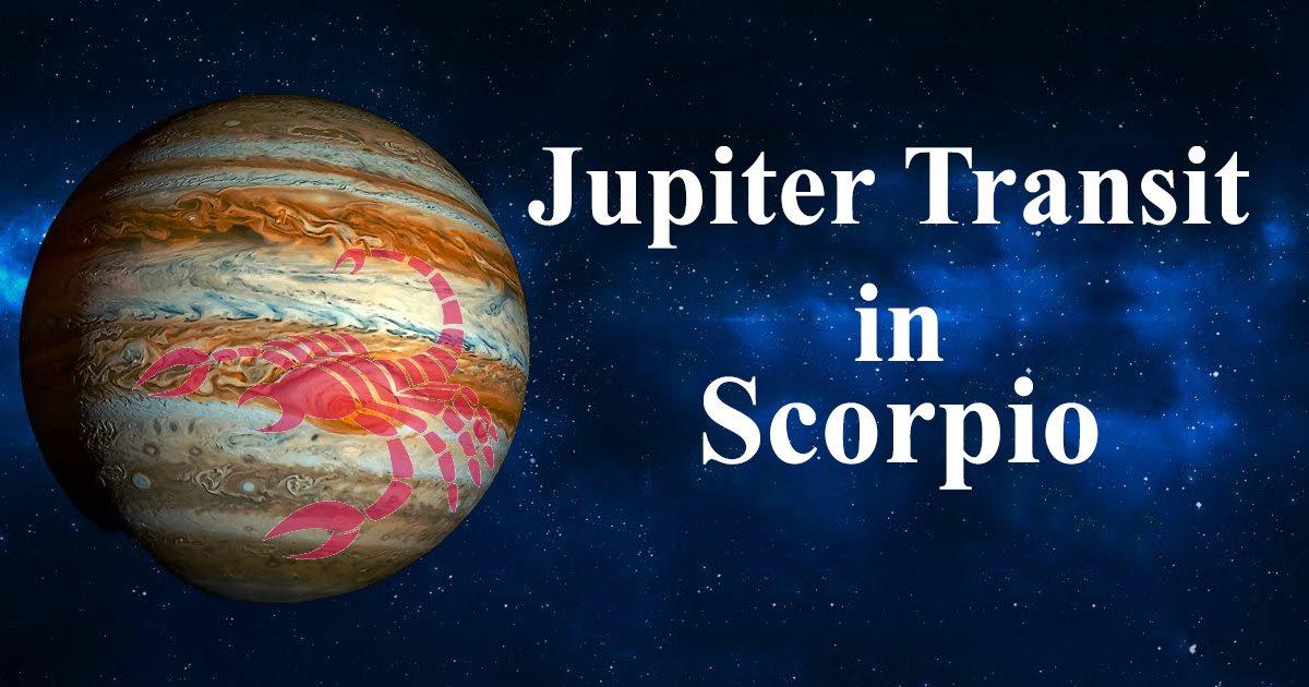 Jupiter Transit in Scorpio from Sagittarius