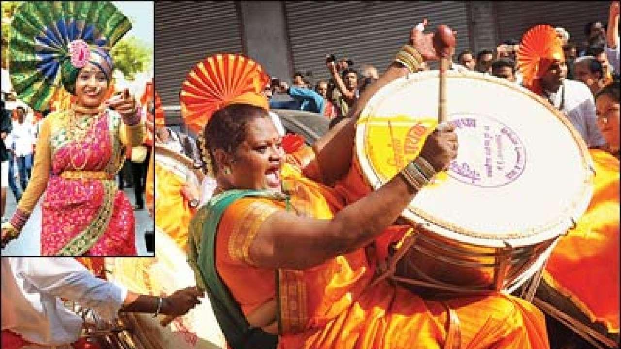 Marathi Procession on Gudi Padwa
