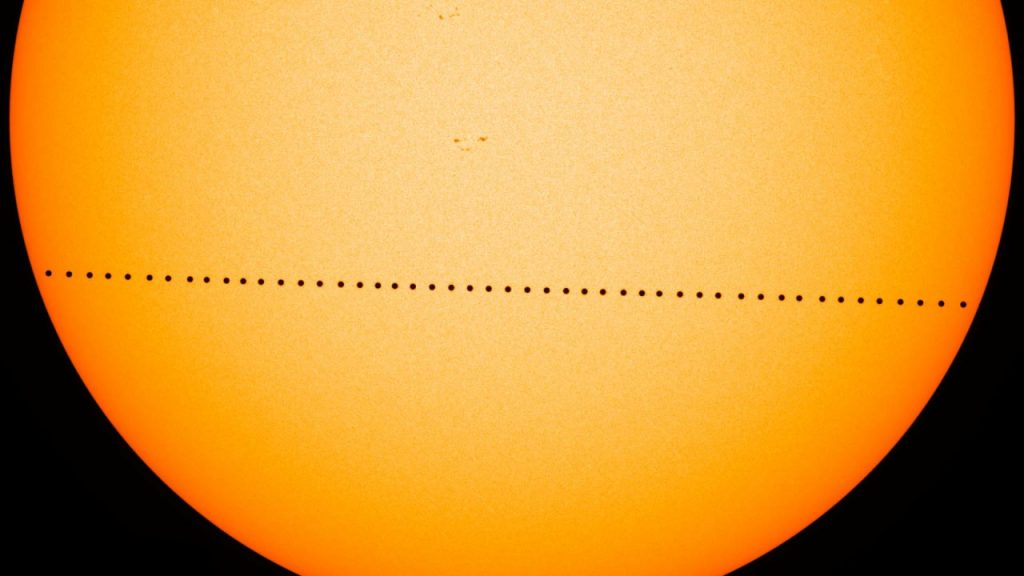 Mercury transit with the sun - Astrology for job