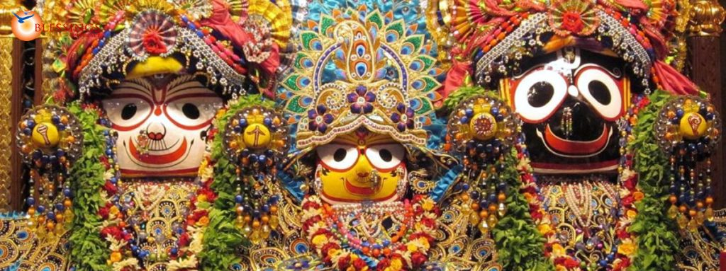 These are the main deities at Lord Jagannath Temple