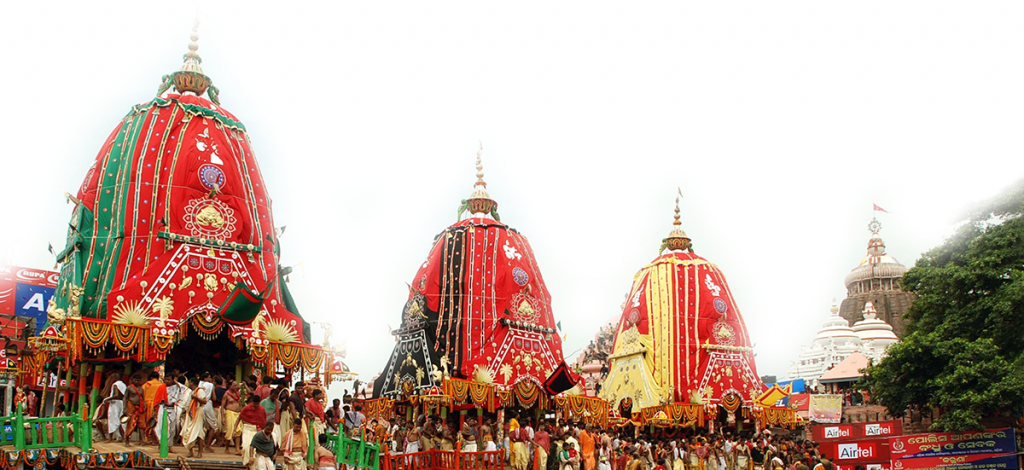 World-renowned Puri Rath Yatra