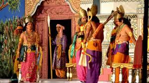Scene from Rama Leela