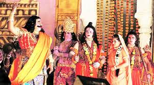 Scene from Ram Leela
