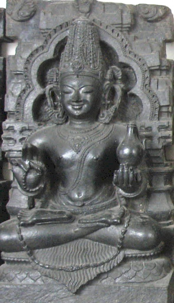 The idol of Lord Shukra