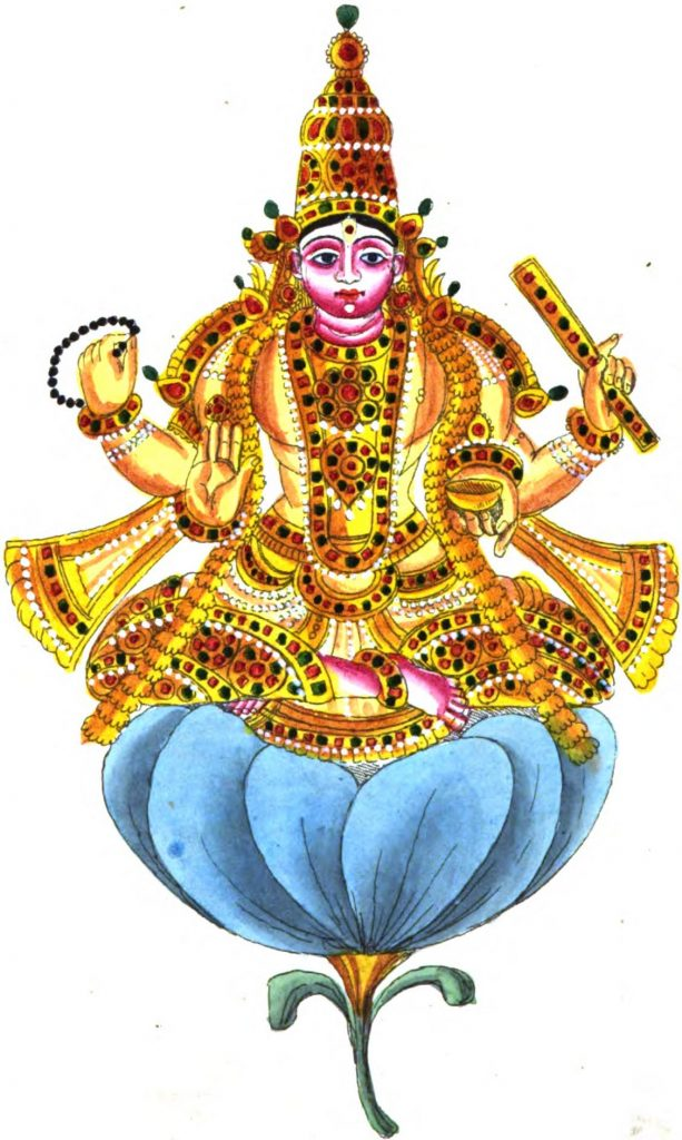 A depiction of Shukra Dasha
