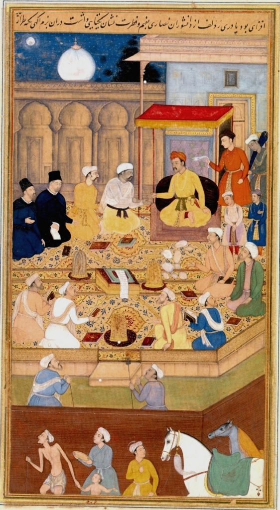 Akbar and astrology in his court