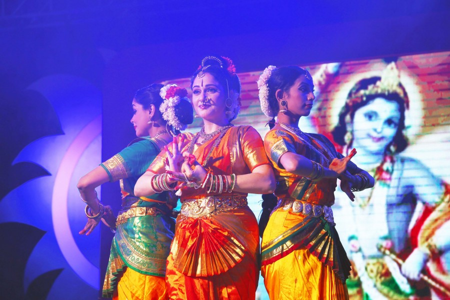 Dance and Music programs are conducted on Kumbh festivals