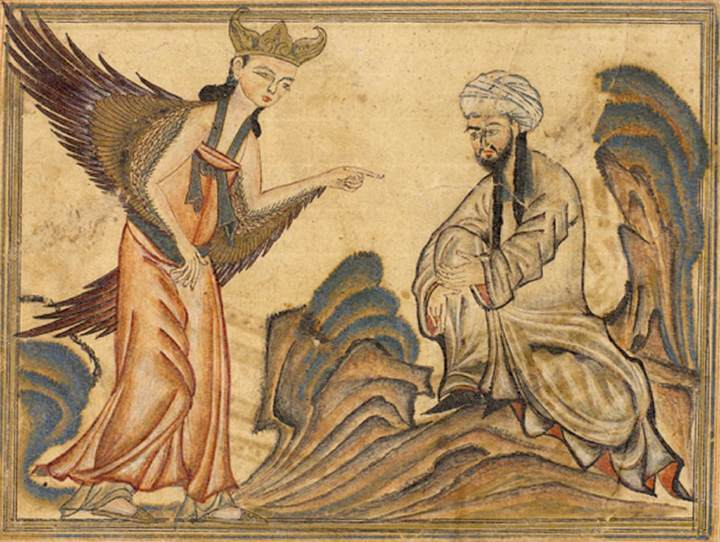 allah's angel jibreel and ilm-al-nujum