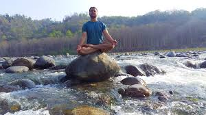 The lotus pose is the best while reciting mantras.