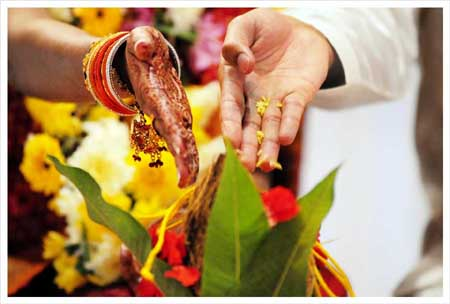 We may perform pujas to negate the ill effects of our planets for a good marriage.