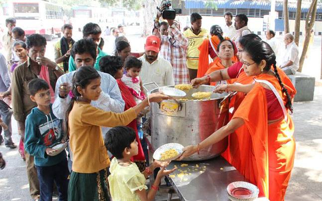 Vaisakha month the best time for donations