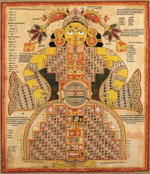 Jain Cosmology Description