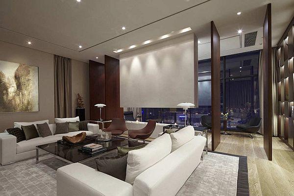 Living room with sofa arrangement (Vastu tips for living room)
