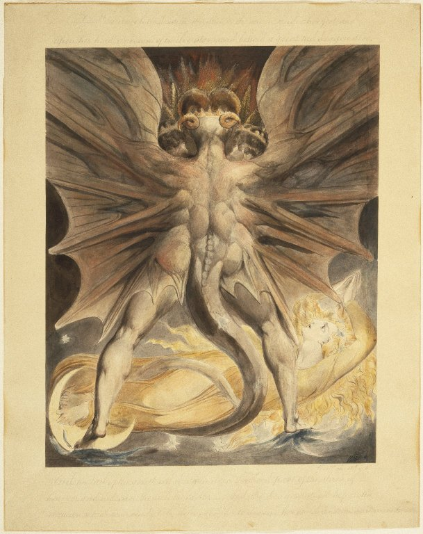Revelations 12 : The Great Red Dragon and the Woman Clothed with the Sun
