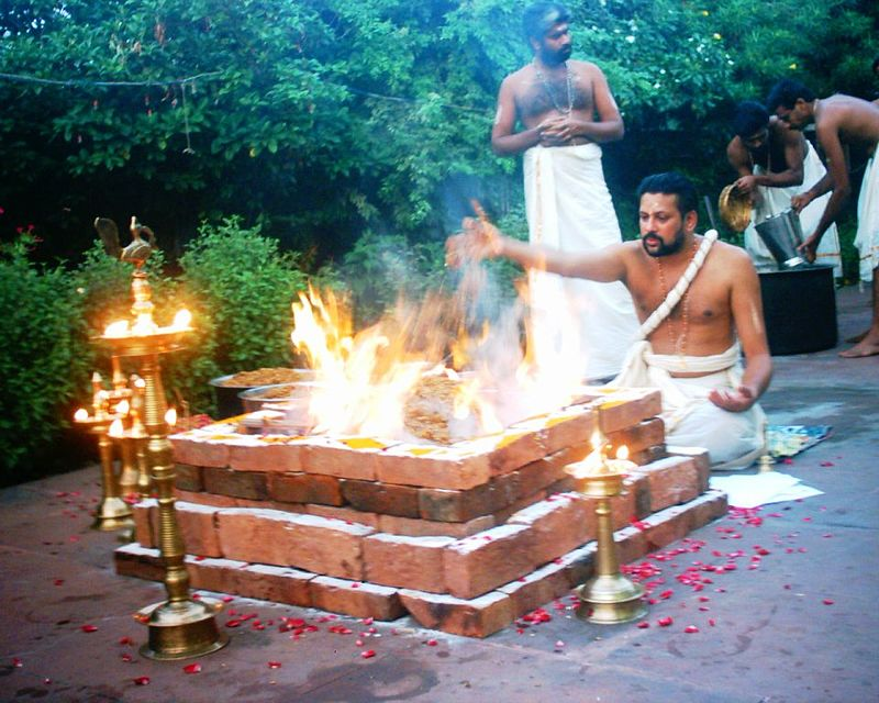 Yagna performed
