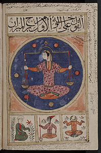 Libra - Old Islamic Representation