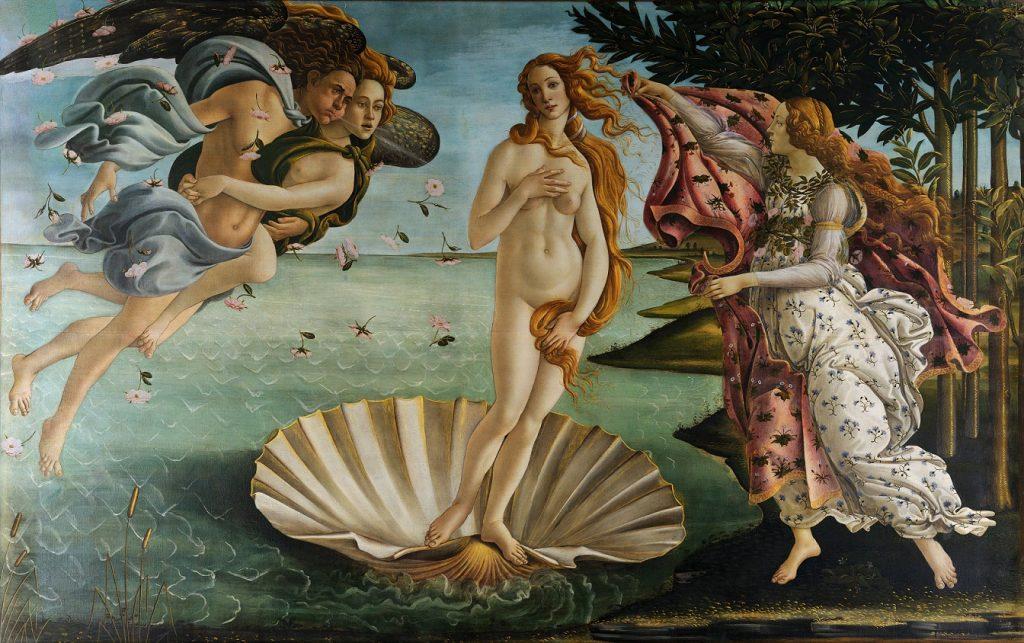 Botticelli_Venus - Venus Mahadasha