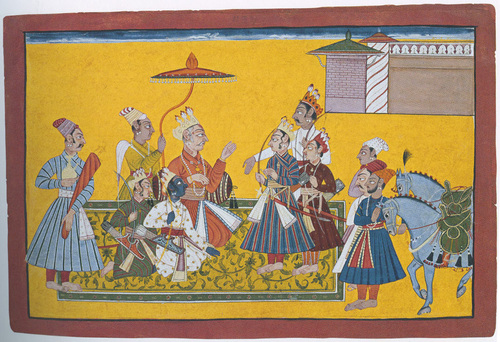 King Dasaratha And His Sons