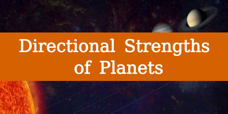 Directional Strengths of Planets - strength of planets