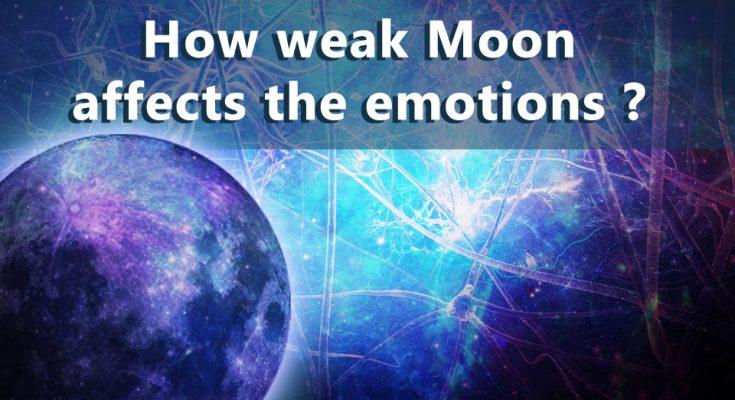 Weak Moon Results - Moon Mahadasha