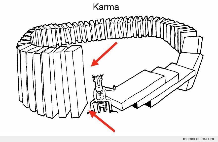 The Wheel Of Karma