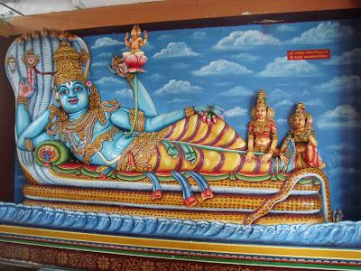 Vishnu Sayanam -  Vishnu Nabhi