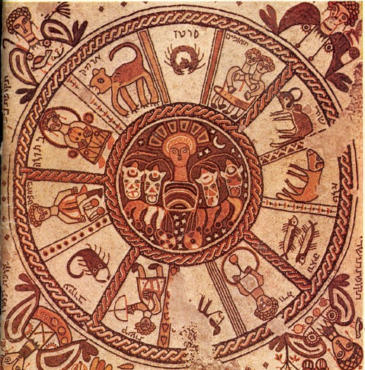 Zodiac In A Synagogue