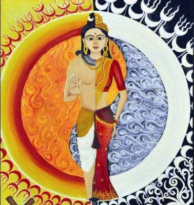 Sun is the male planet while moon is the female planet in vedic astrology