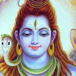 An image of lord shiva in his magnificance showers us with blessings