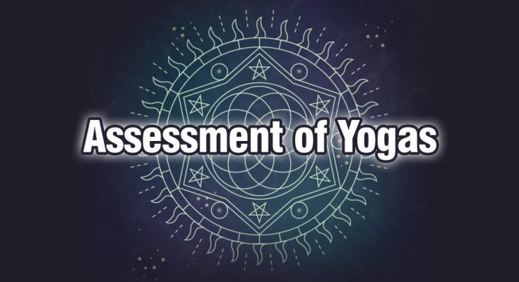 Assessment of Yogas - ava yogas