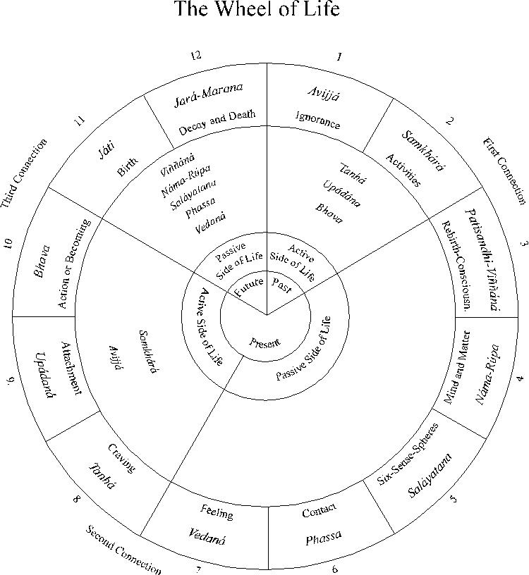 Wheel of Life with Houses - marakas